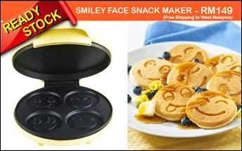 SMILEY FACE SNACK MAKER