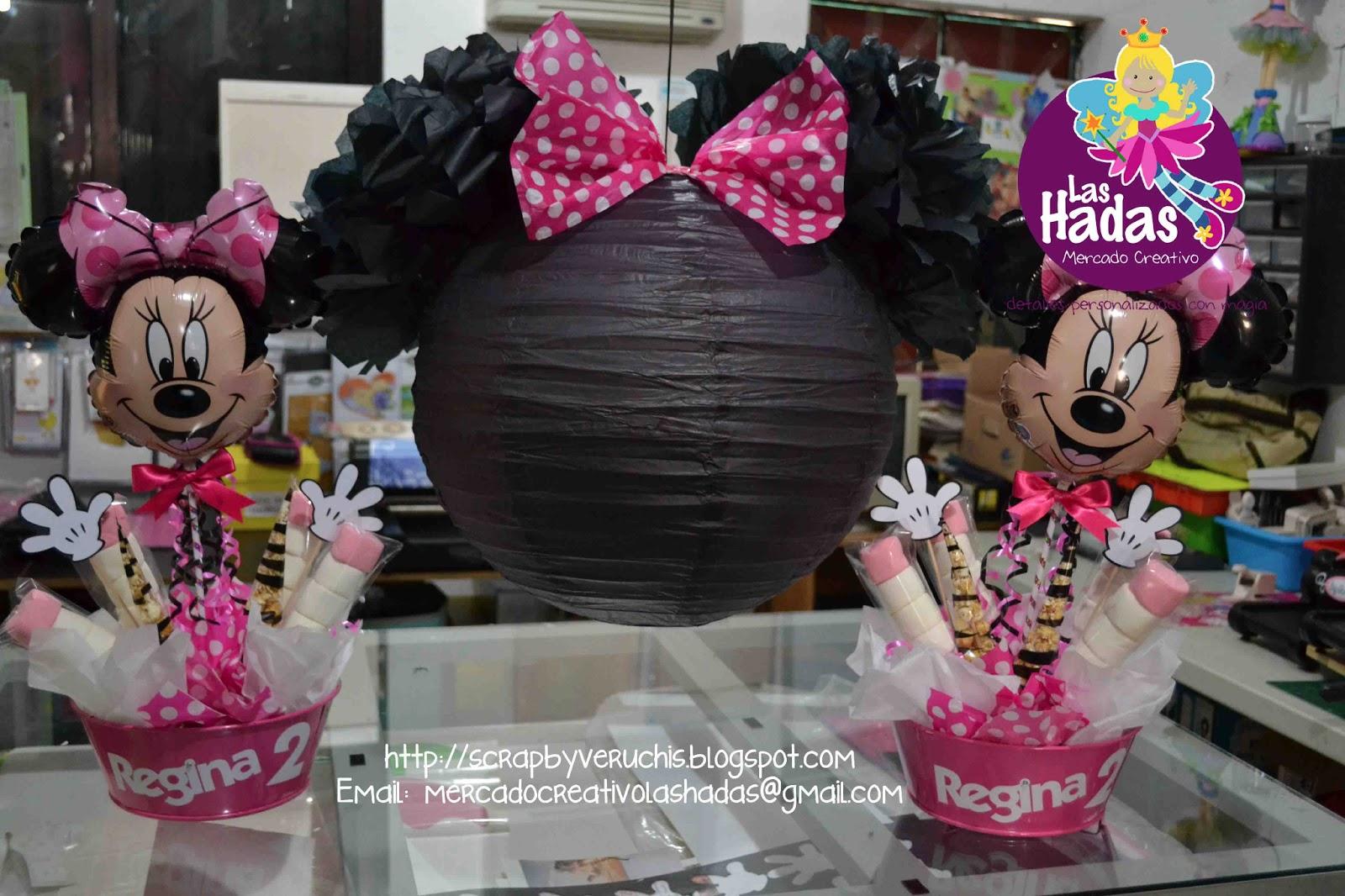 Arreglo Para Mesa De Minnie Mouse