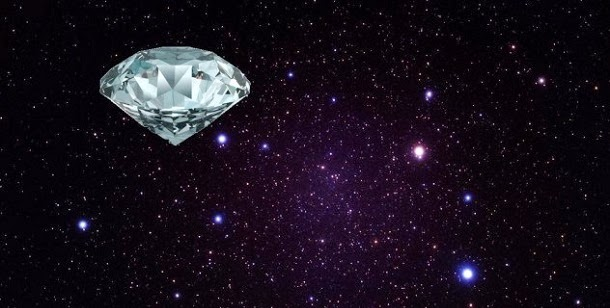 diamantes no céu