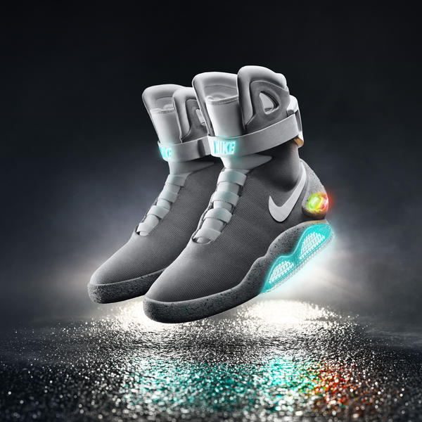 Nike Mag self-lace shoe