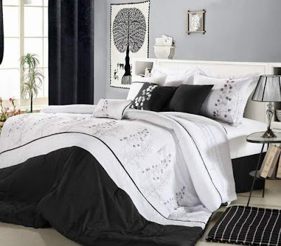 Best Black and White Bedrooms Pictures Ideas