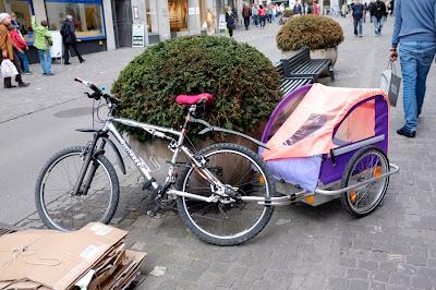 bici, bicicleta, urbana, mountain, bike, mtb, wheeler, suspensión, carrito, remolque, cuidad