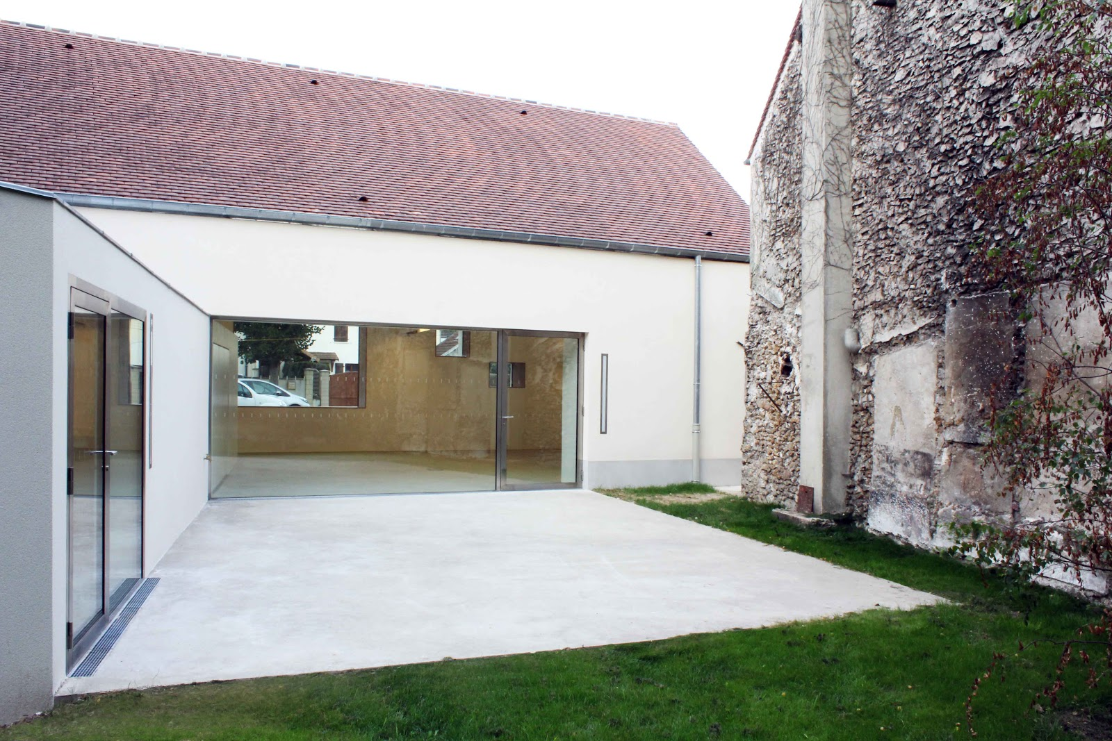 Owa agence d 39 architecture r habilitation de la grange le coq fai - Cout rehabilitation grange ...