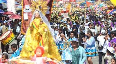 Iglesia confirma programa oficial de la festividad de Urkupiña 2013