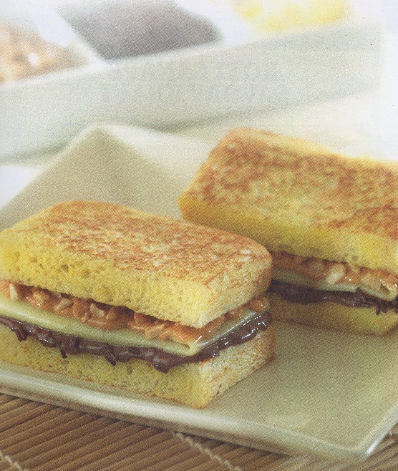 resep masakan indonesia roti tiga rasa kraft bahan 8 lembar roti tawar ...