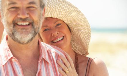 The Advantages Of Getting Married Later In Life - old people man woman in love romance