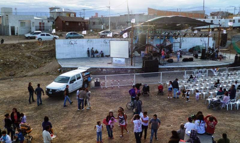 cine movil enPuerto Deseado - Santa Cruz