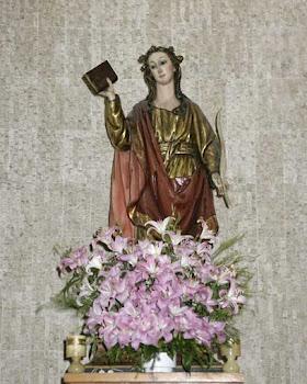 Santa Margarida, de Antioquia de Pisidia, Virxe e mártir