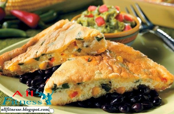Savory Corn Quiche With Green Chiles and Green Onions
