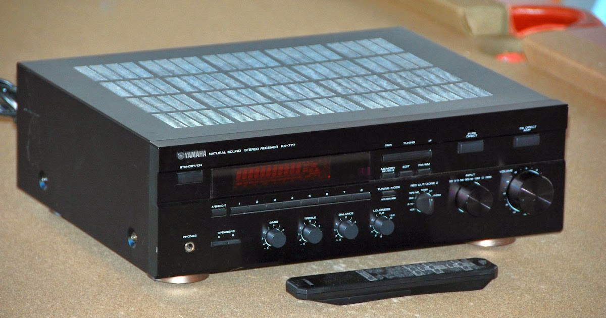 Yamaha rx 777 stereo receiver audiobaza for Yamaha stereo reciever