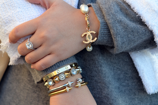 Another Shot Of Vita Fede Bangles Worn By Mwanwan Co S Blogger