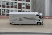 Mercedes-Benz Aerodynamics Truck