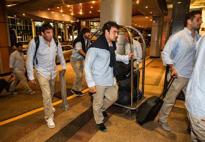 Los Pumas arribaron a Perth