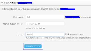 kolom hostname IDwebhost