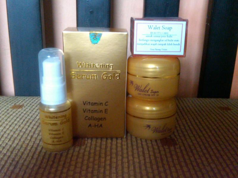 AURA BEAUTY CARE Cream Walet Gold Serum GoldPemutih