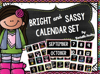 Bright and Sassy Calendar Set