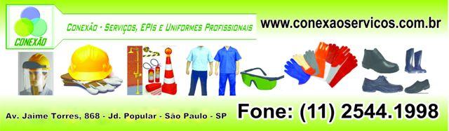 Conexão - Serviços, EPIs e Uniformes Profissionais
