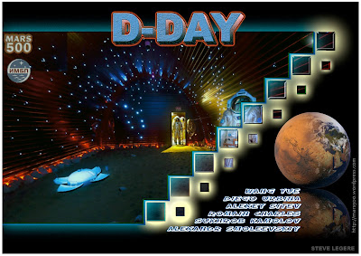 D-DAY for The Mars 500