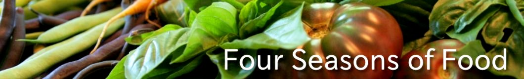 Four seasons of food