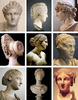 model potongan rambut roma jaman dulu