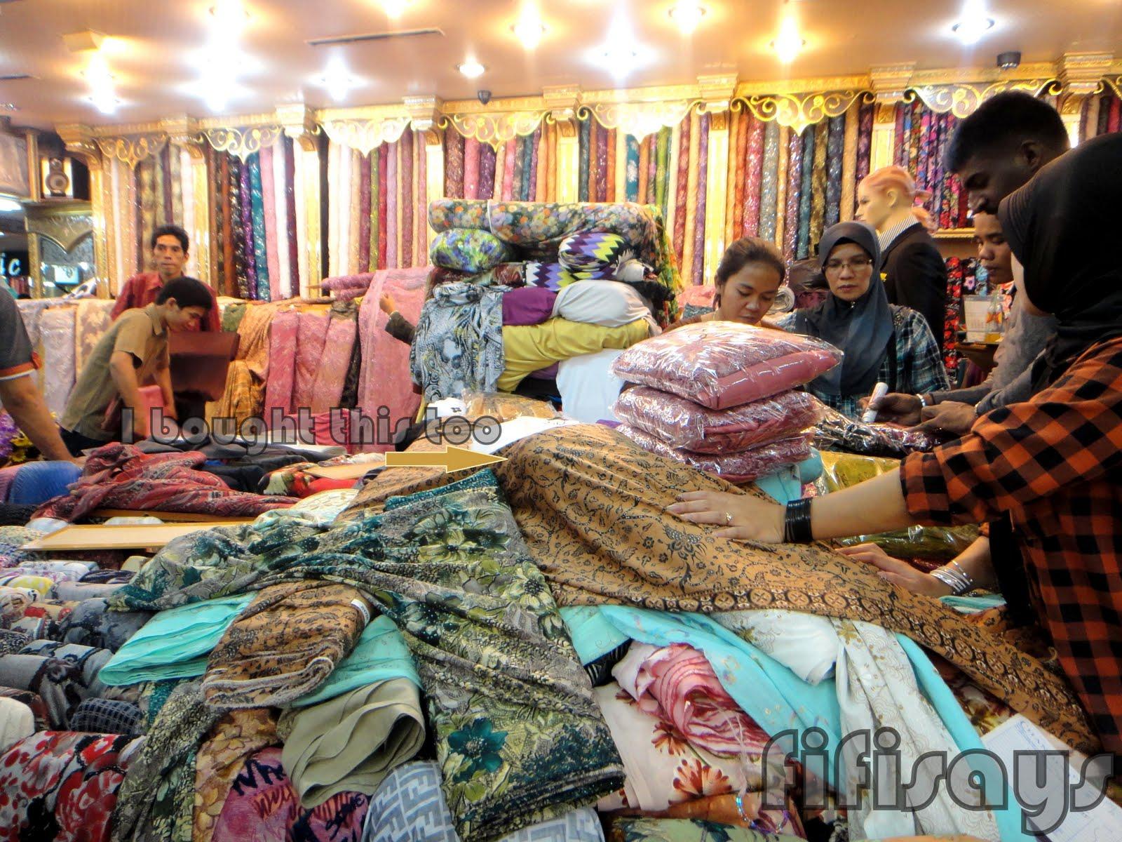 art textile design printing digital: PASAR BARU BANDUNG INDONESIA