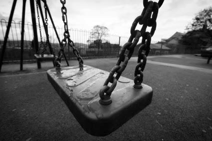 Black and white playground