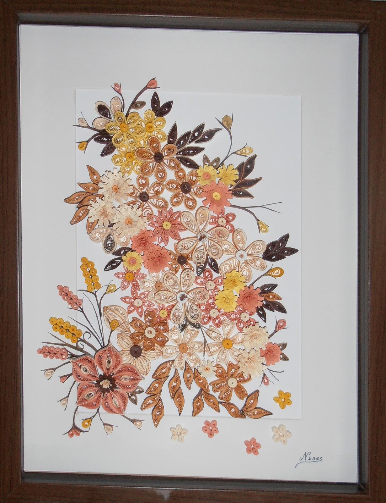 artesania nines  filigrana en papel