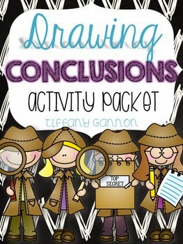https://www.teacherspayteachers.com/Product/Drawing-Conclusions-Activity-Packet-345491