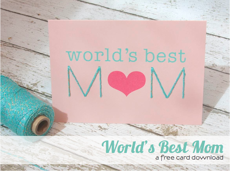 World's Best Mom Card Download The Twinery Magnificent World Best Mom Picture Download