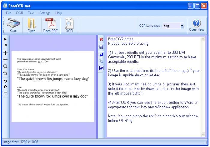 Escanear Documentos con Softi FreeOCR