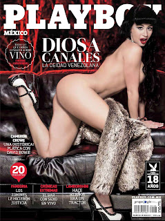 Diosa Canales On The Cover Of Playboy Magazine [NSFW][PICS]