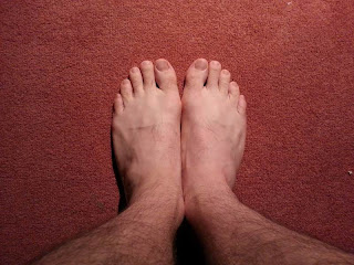"My feet are not the ""normal"" human evolved feet. They're a product of a lifetime of wearing shoes."