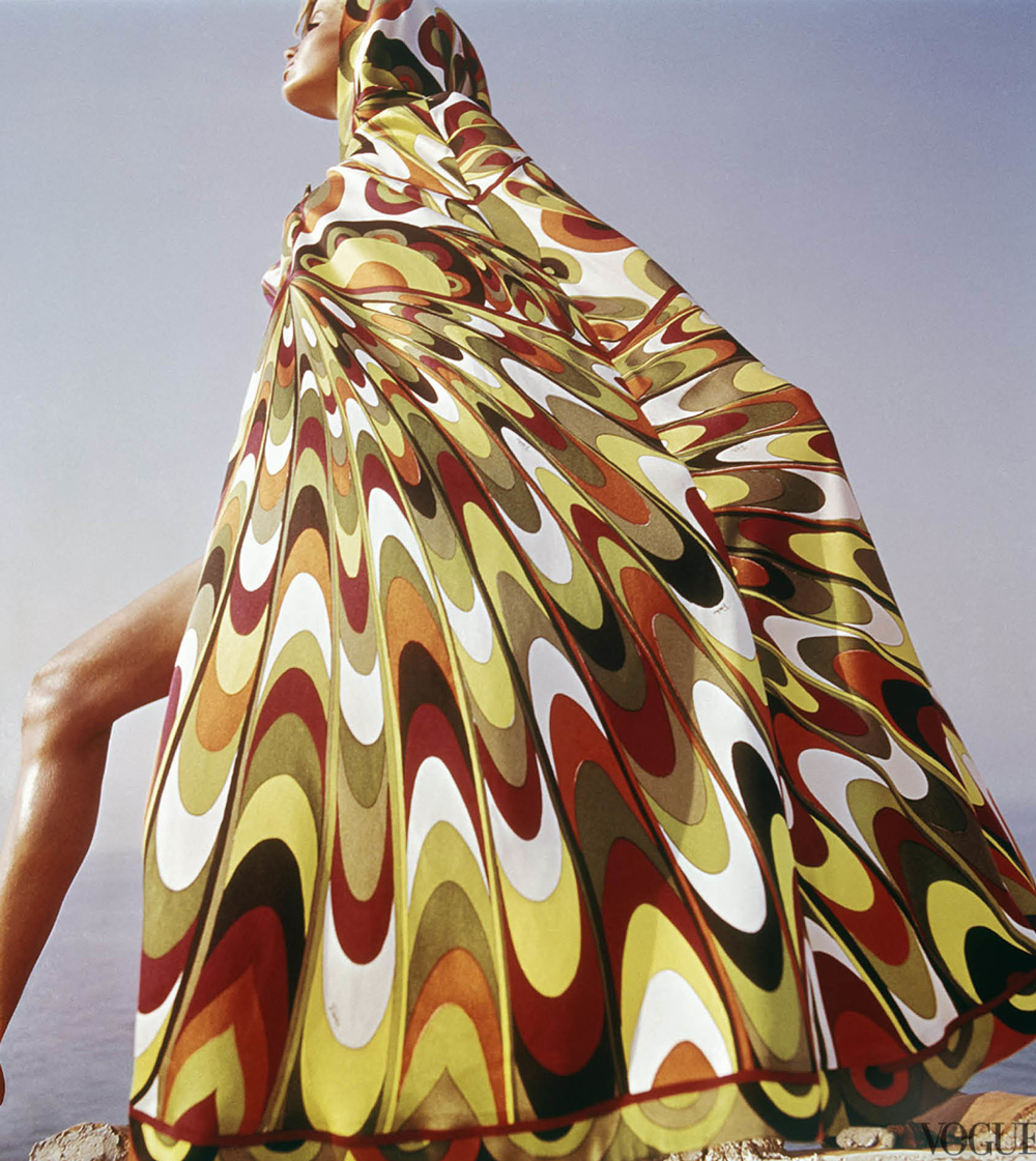 Veruschka photographed by Henry Clarke for Vogue US 1967 via fashioned by love british fashion blog