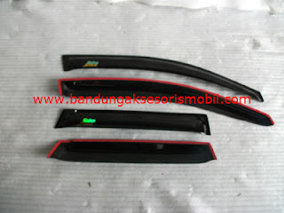 Talang Air Jazz Original Black Depan Belakang