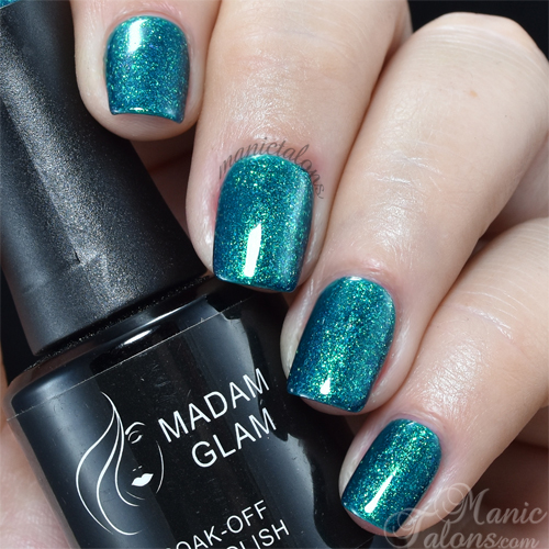 Madam Glam Gel Polish Jasmine Swatch