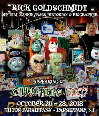 Don't miss my 3rd appearance at CHILLER THEATRE!  I am bringing the Art Clokey puppets for photo op