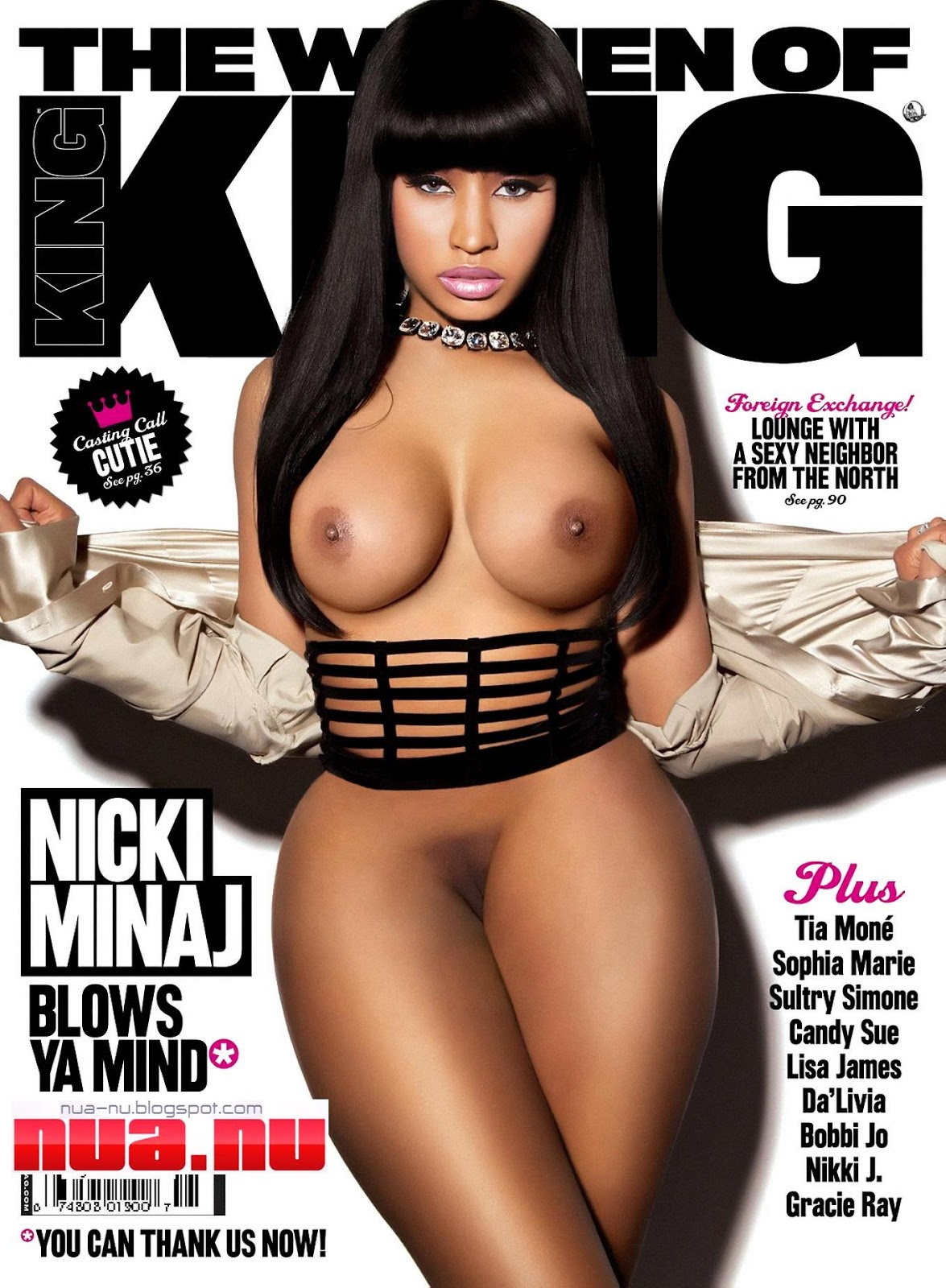 Nicki minaj full nude