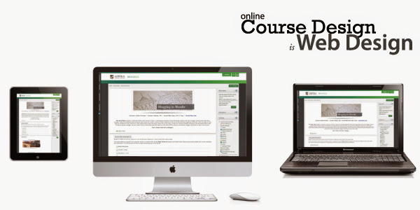 Online Course Design is Web Design