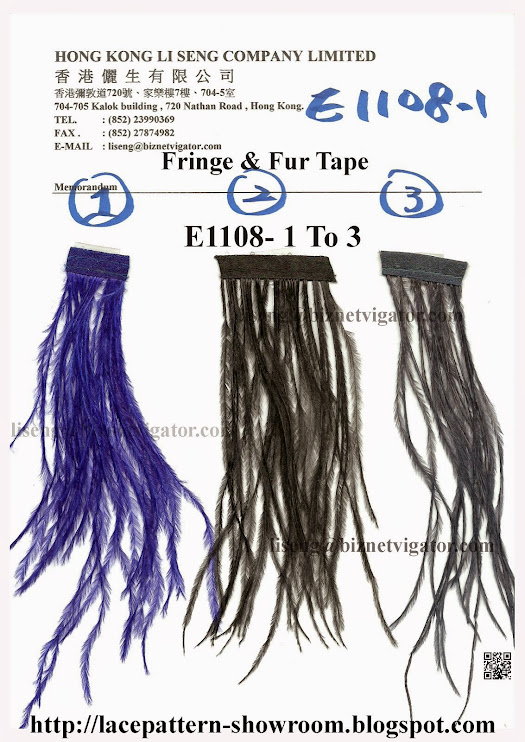 Fringe and Fur Tape Manufacturer Wholesale Supplier - Hong Kong Li Seng Co Ltd