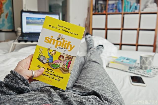buch tipp | simplify your life aufräumratgeber | luziapimpinella.com