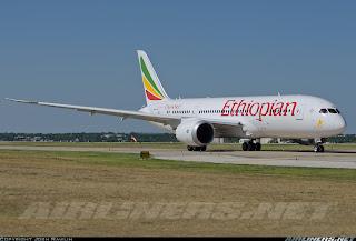 Ethiopian's 787 ET-AOQ