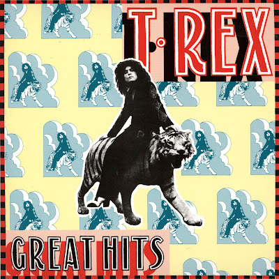 Cover Album of T.Rex - Greatest Hits (Classic Album UK 1973)
