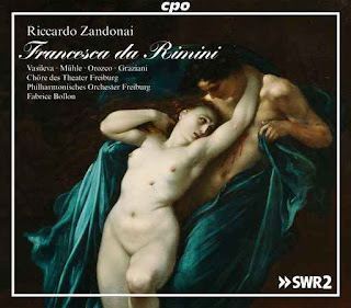 CD REVIEW: Riccardo Zandonai - FRANCESCA DA RIMINI (cpo 777 960-2)