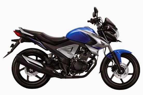 New Honda MegaPro FI Blue