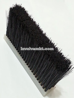 nylon flat brush. nylon staple set brush