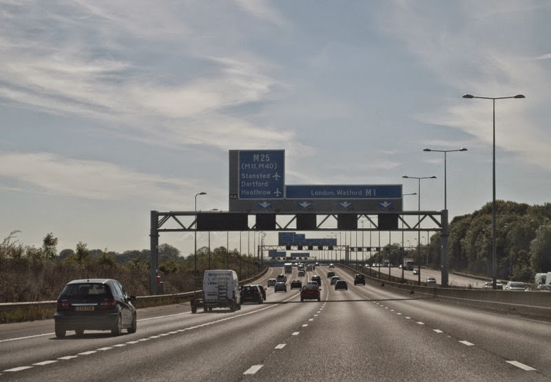 London motorway