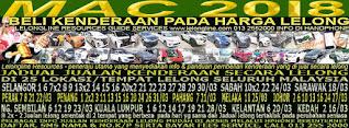 1-31/03/2018 - JUALAN KENDERAAN LELONG SELURUH MALAYSIA & SEKITAR KLANG VALLEY-SGR/K L
