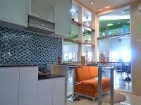 show unit the green pramuka apartment