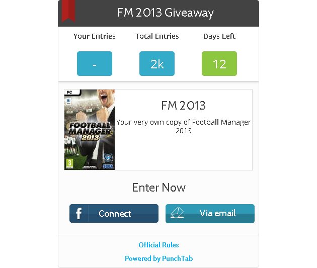 Giveaway by FMS