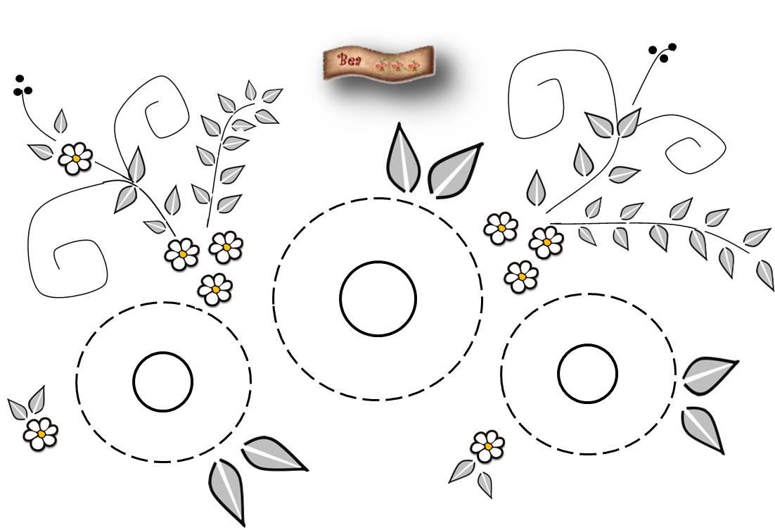 Dibujos De Flores Para Bordar | www.tollebild.com